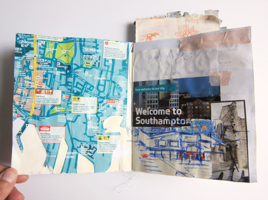 Carnet de voyage Southampton