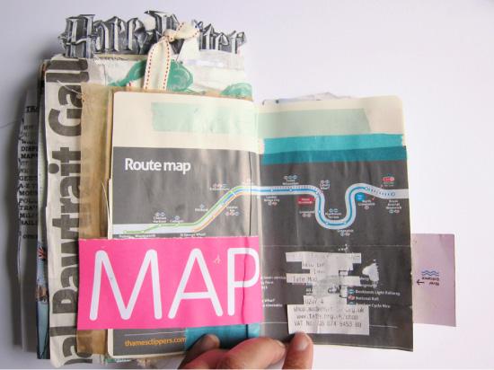 carnet de voyage Map