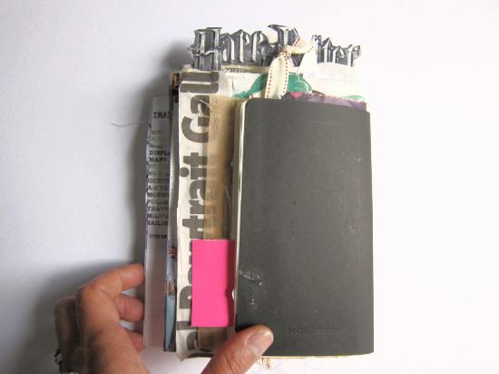 Dos carnet de voyage