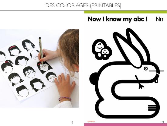 des coloriages à imprimer