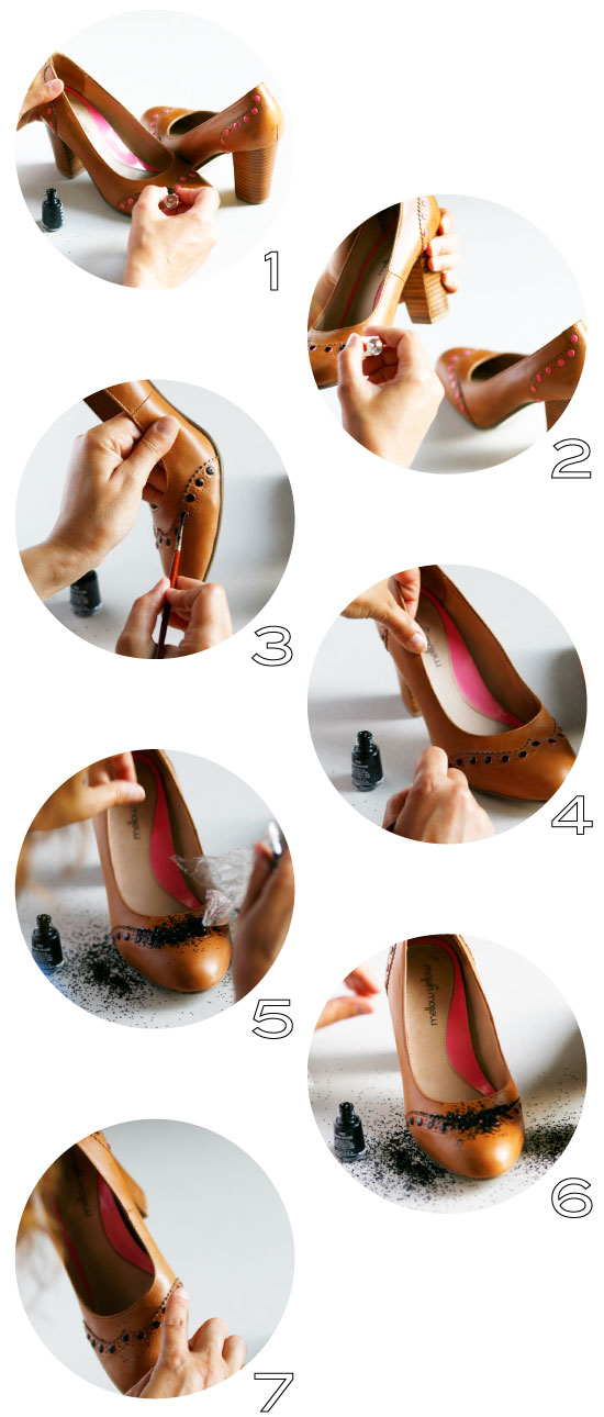 DIY Shoe Makeover