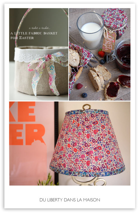 DIY projects with Liberty of London