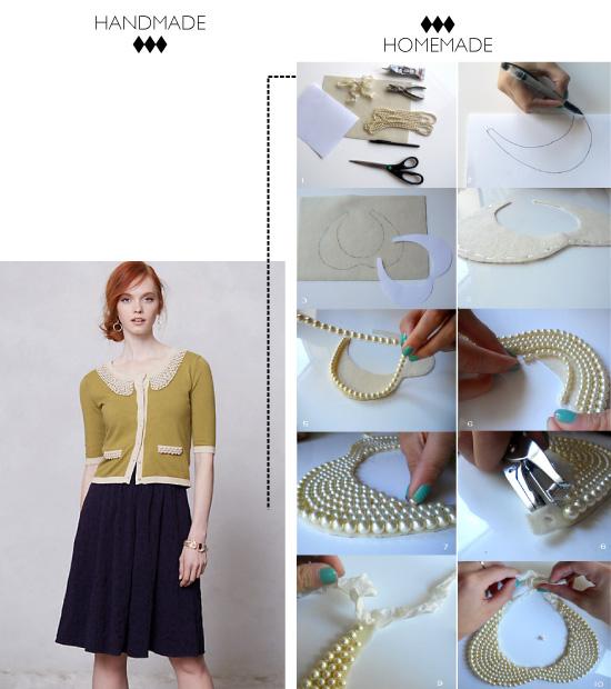 DIY collar Pearl