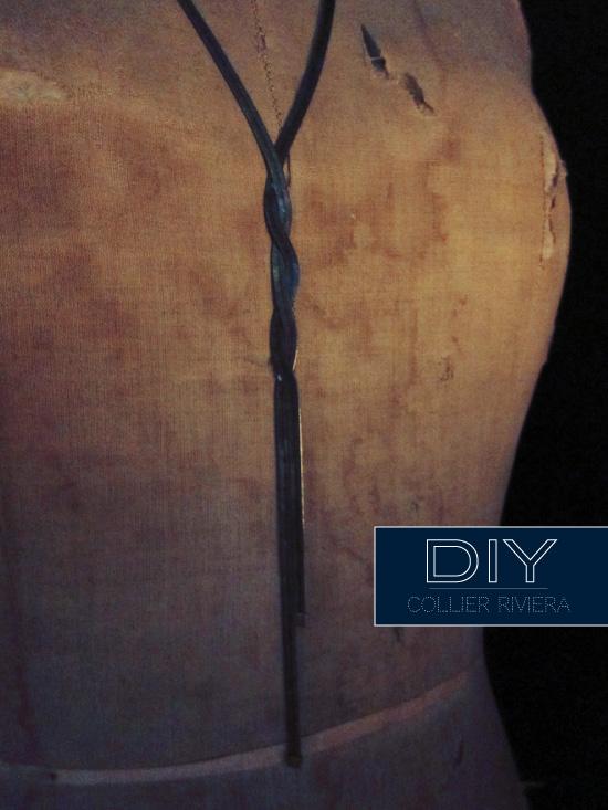 Collier RIVIERA - DIY