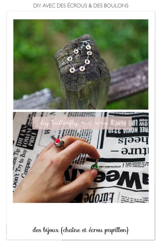 DIY Hex Nut & Washer Jewelry