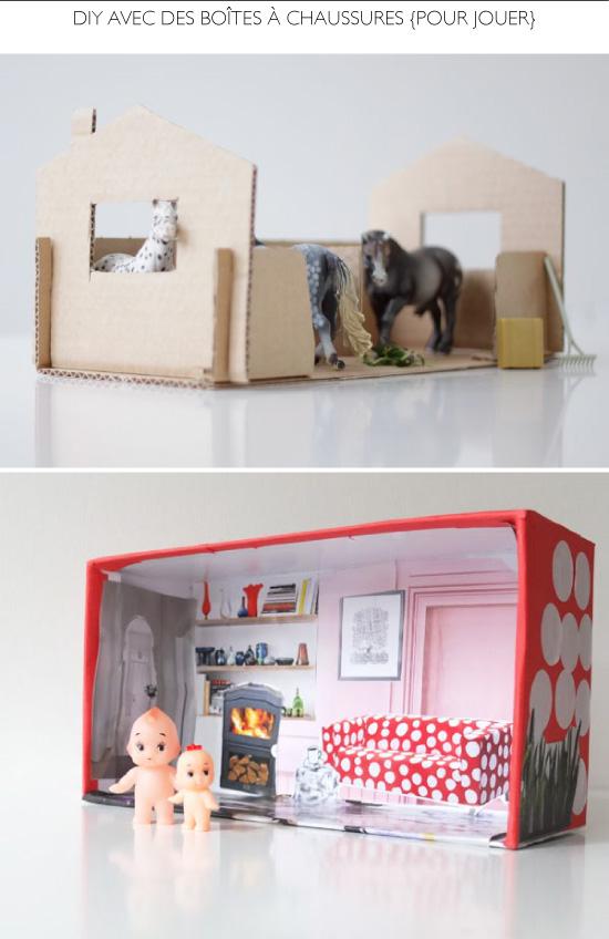 15 diy avec des bo tes chaussures. Black Bedroom Furniture Sets. Home Design Ideas