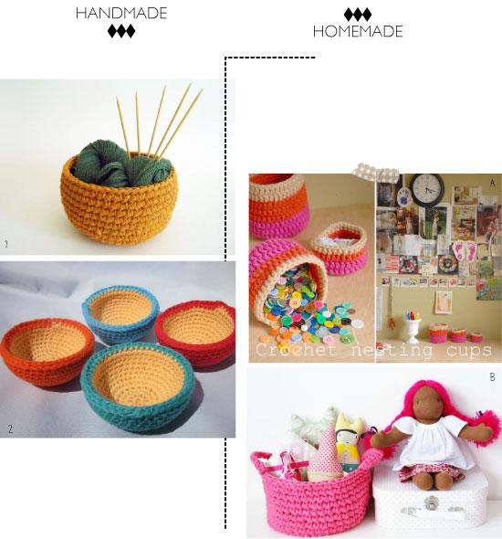 DIY : des paniers crochetés