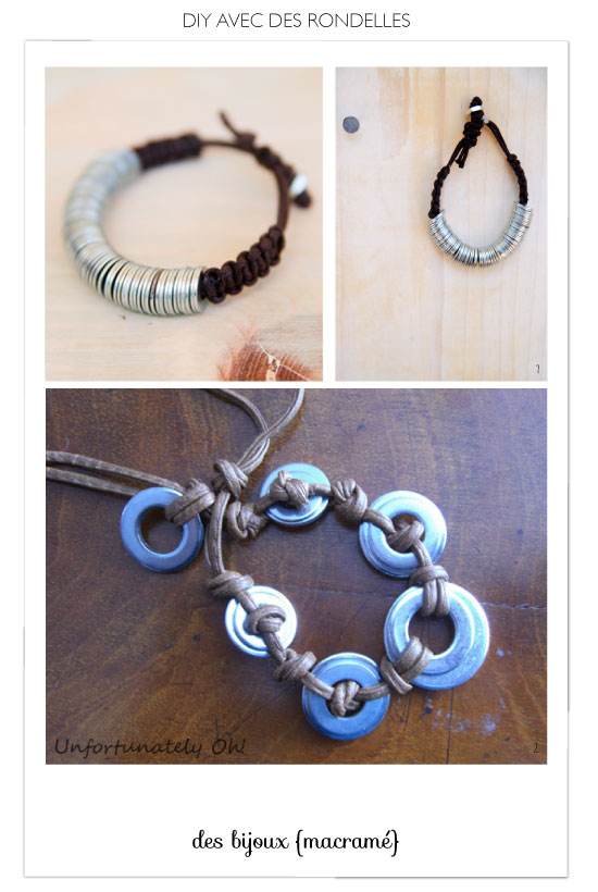 DIY Hex Nut & Washer Jewelry