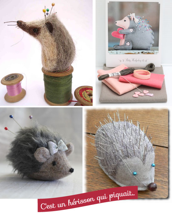Hedgehog Pincushions