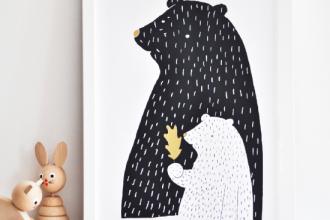 mama-bear-Print-Woodland-inspired-Poster-550x5501