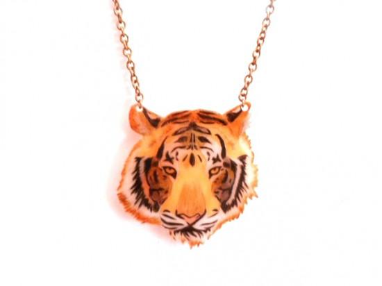 DIY pendentif tigre maib