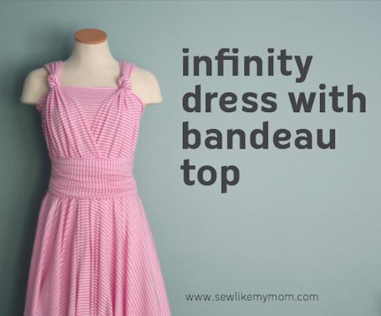 Infinity Dress via Sew like my mom