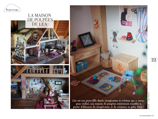 Maison de poupées Plumetis magazine #15