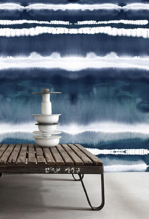 Blue Watercolor Emilie Ziz