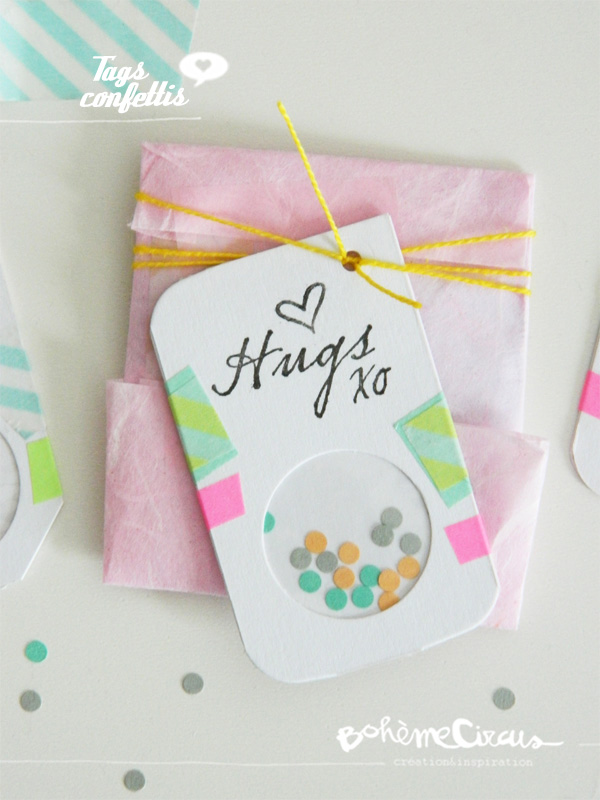 diy gift - confetti tag copyright by bohemecircus june 2013