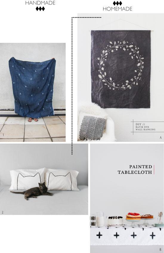 DIY Peinted fabric