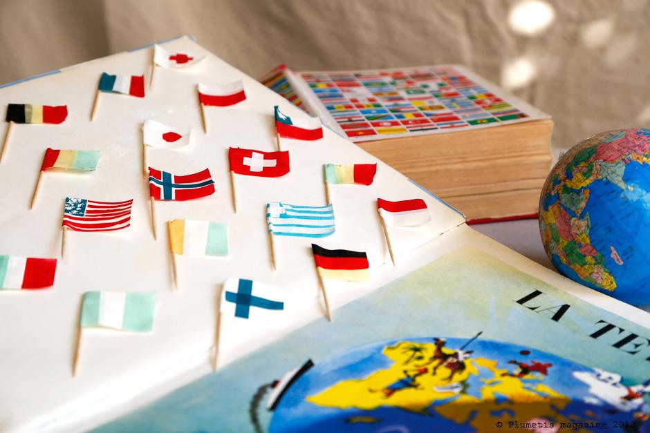 Les drapeaux en MT