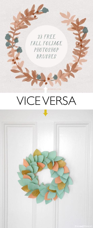pinceaux-photoshop-couronne-feuilles-DIY