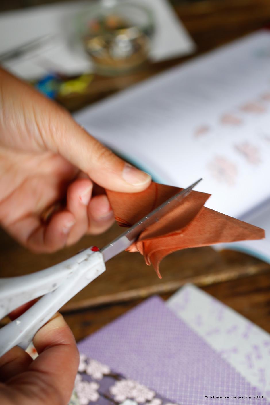 Les broches en papier japonais
