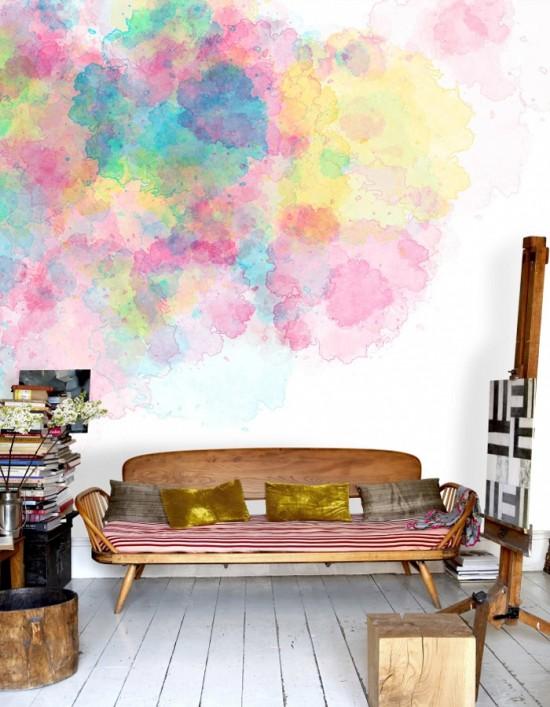 Watercolor Photowall