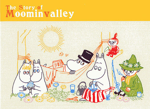 Japanese Moomin card - 20