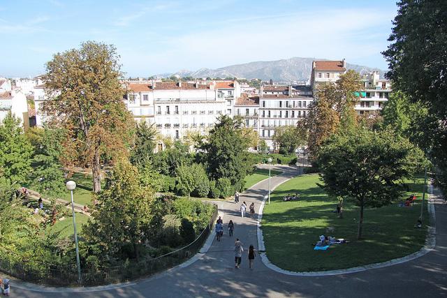 Parc Longchamps - Marseille (France)