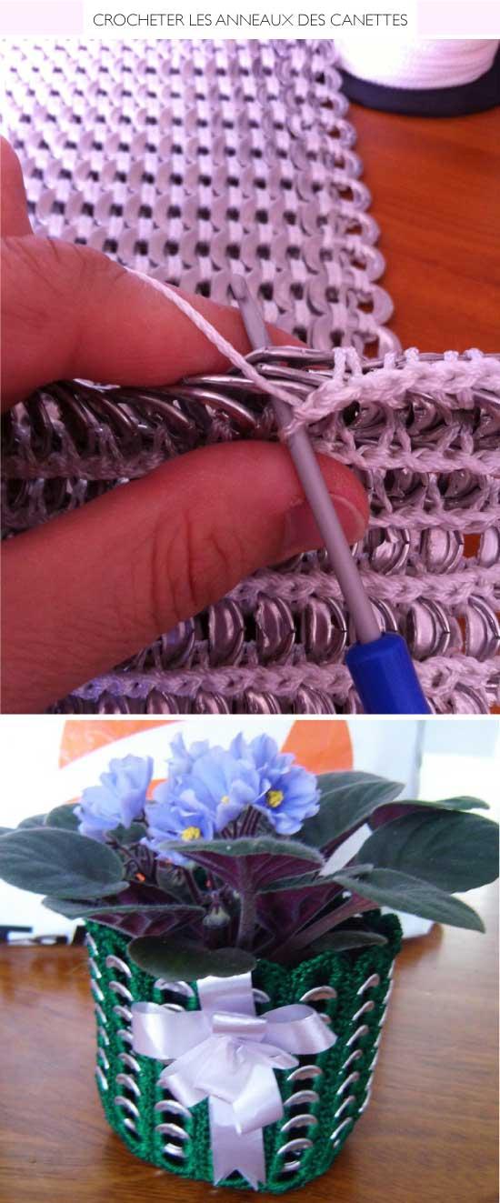 Crochet Pull Tabs