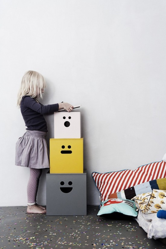 Face (natural) boxes // Ferm Living