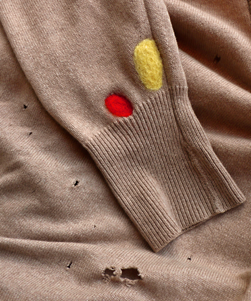 mending your wool sweater via iiiinspired