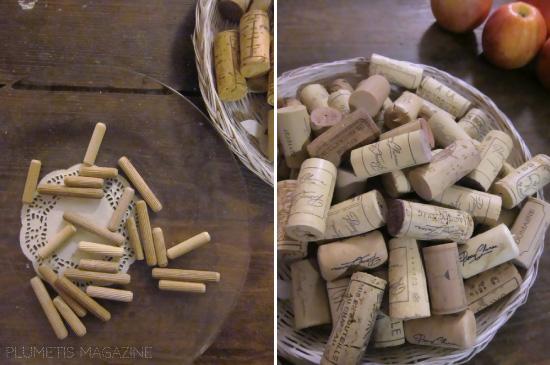 Le jeu de construction en liège et bois (diy)