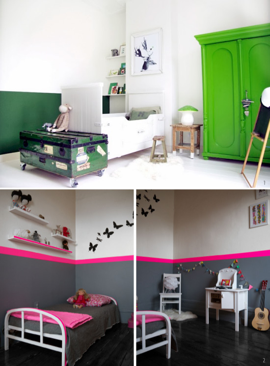 diy half painted wall - Peindre 2 Murs De Couleur Differentes