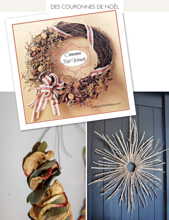 DIY Natural Christmas Wreath