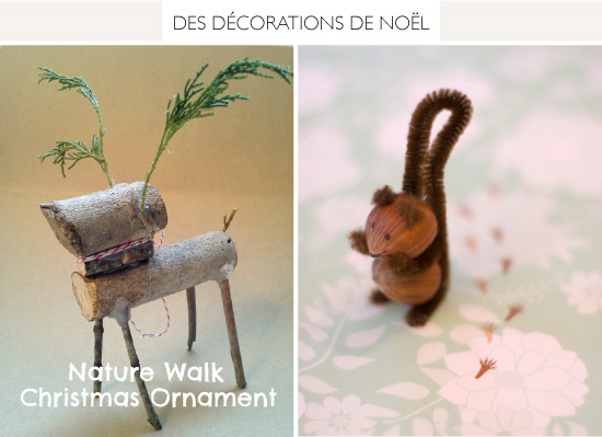 DIY Natural Christmas Ornament