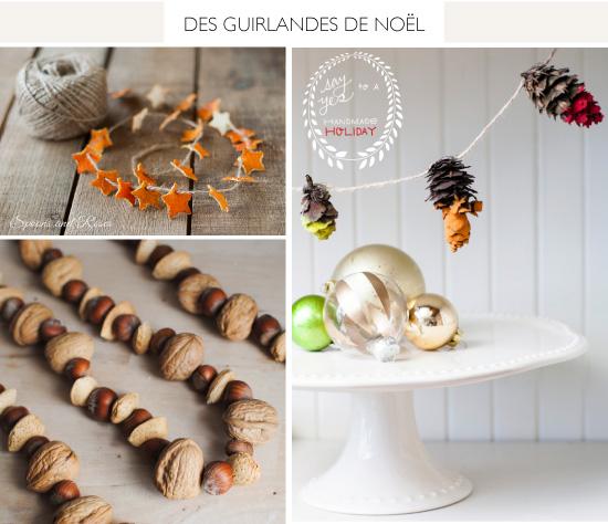 DIY Natural Christmas Garland