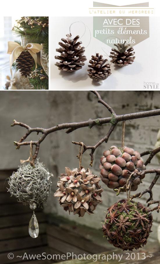 DIY Natural Christmas Ornament