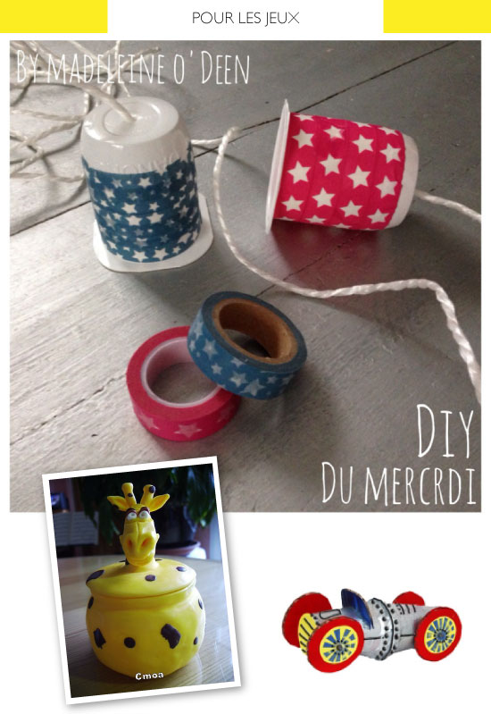 pot de yaourt recyclable crafts