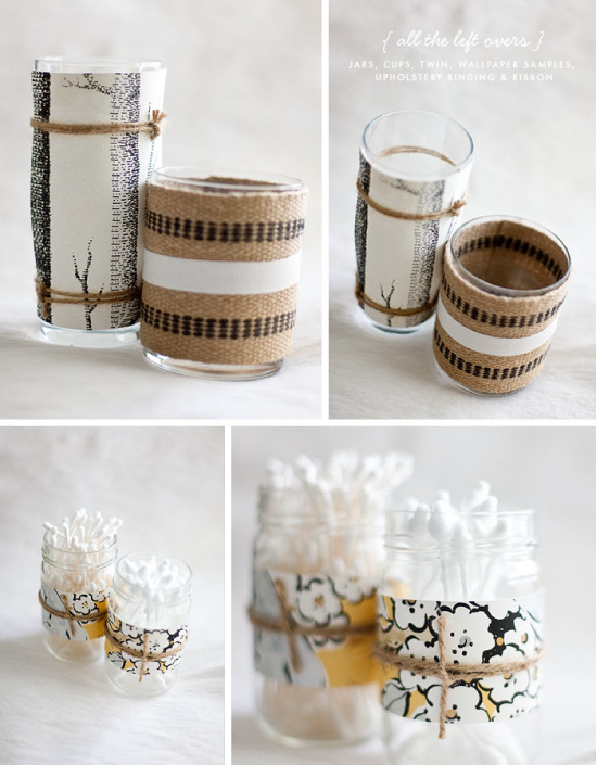 20 diy avec des pots de yaourt for Decoration pot de yaourt en verre