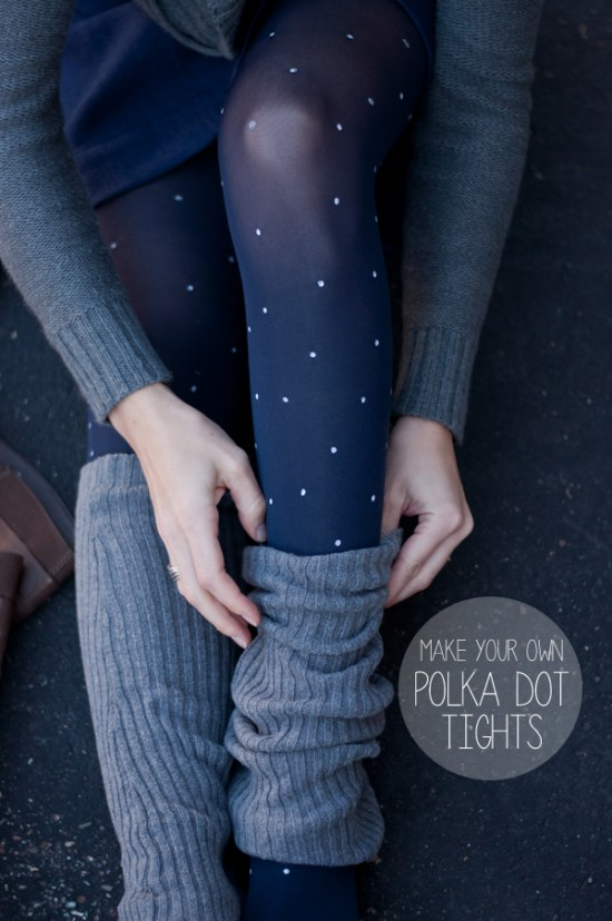 Polka dot tights This heart of mine
