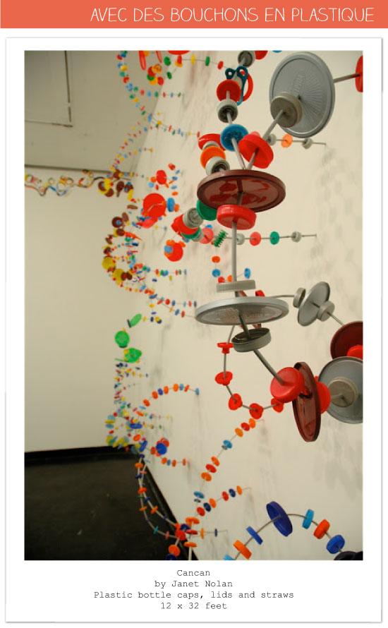 DIY créations bouchons plastique capsule