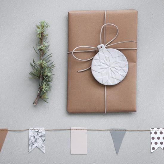 porcelain gift tag / ferm living