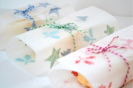 Packaging for edible gifts via A pretty life