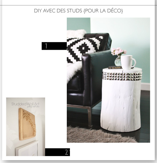 22 Studded DIY Projects