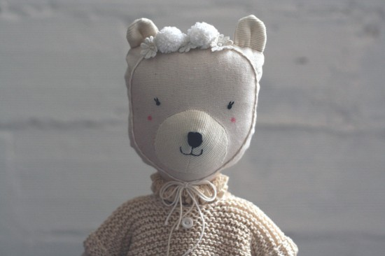 ambre soft toy by Luci Soli