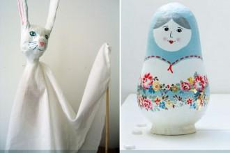 avec-du-papier-mache-figurine-lapin-poupee