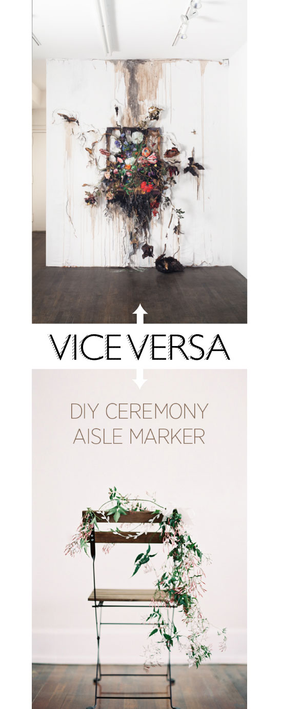 Casace de fleurs // Valérie