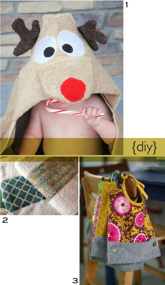 Soft towell fabric diy // tissu éponge