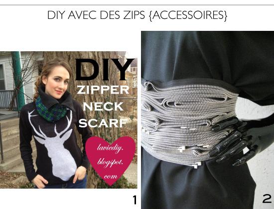 Zipper projects DIY