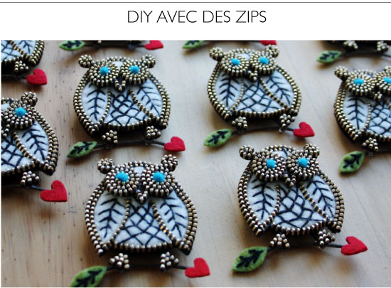 Zipper projects DIY