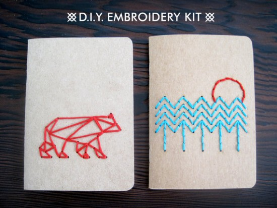 DIY Embroidery Kit // Curiousdoodles