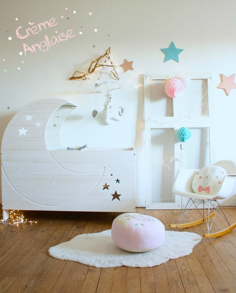 Lit Lune // Crème Anglaise baby&child